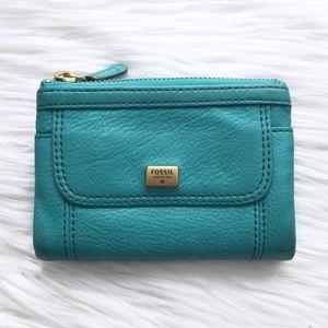 Fossil Turquoise Ellis Multifunction Wallet